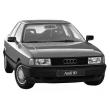 Запчасти Audi 80/90 B3 (87-91)