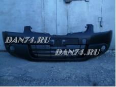 Бампер передний без омывателей Nissan Qashqai J10 (07-)